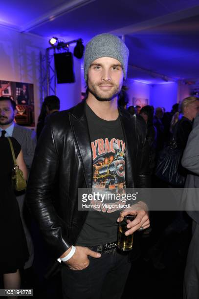 Singer Patrick Nuo attends 'The Art of Television' TV Launch of TNT Film HD and TNT Serie HD at Galerie Thomas Modern on October 11 2010 in Munich...