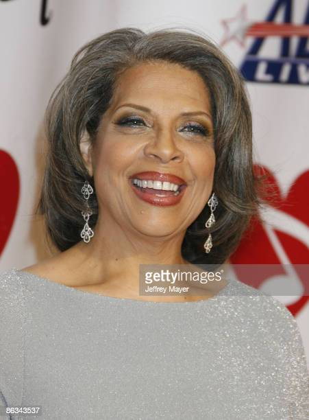 Singer Patti Austin arrives at the 2008 MusiCares Person of the Year gala honoring Aretha Franklin held at the Los Angeles Convention Center on...