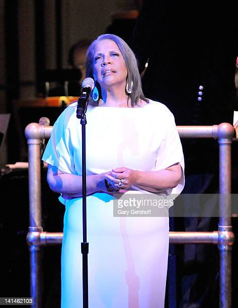 Singer Patti Austin performs at Carnegie Hall on March 16 2012 in New York City