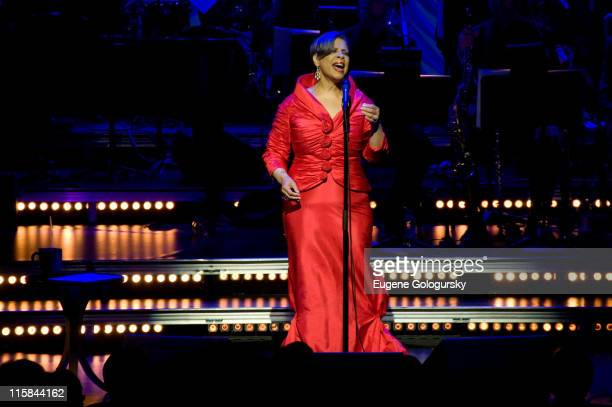 Singer Patti Austin performs at The 2008 Jazz at Lincoln Center Spring Swing Gala May 28 2008 in New York City