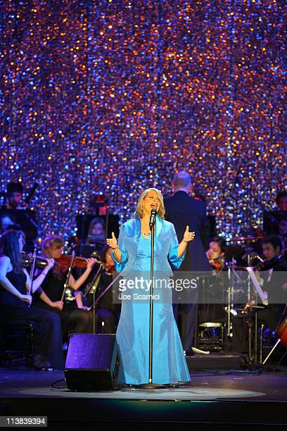 Singer Patti Austin performs onstage at Dream For Kids Grand Opening Gala supported by AEG and presented by Starz LLC benefitting Children's Hospital...