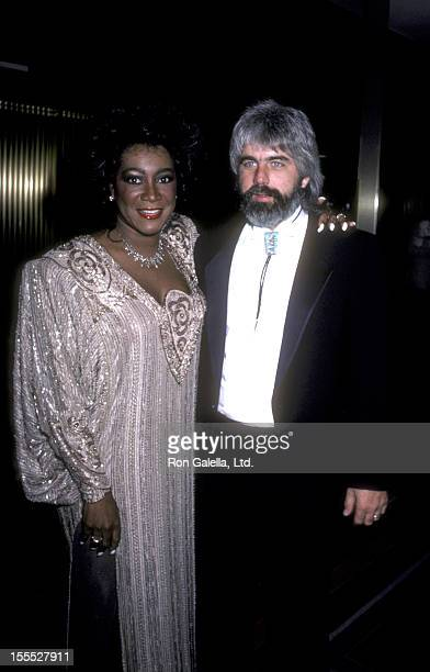 Singer Patti LaBelle and musician Michael McDonald attend B'nai B'rth Honors Gala on June 25 1986 at the Sheraton Center in New York City