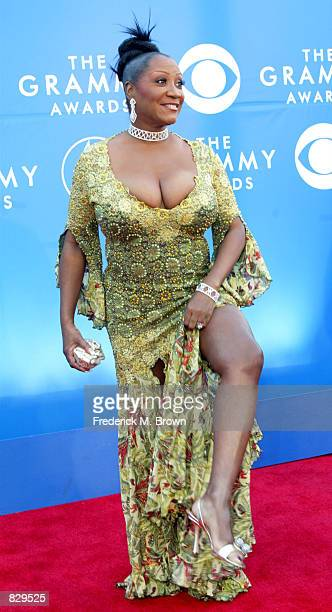 Singer Patti LaBelle attends the 44th Annual Grammy Awards at Staples Center February 27 2002 in Los Angeles CA