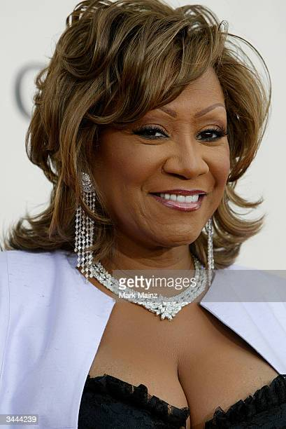 Singer Patti LaBelle attends the 7th Annual VH1 Divas Concert Benefiting The Save The Music Foundation at the MGM Grand Garden Arena April 18 2004 in...