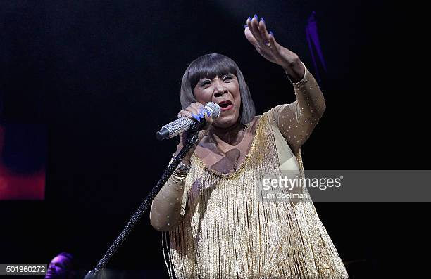 Singer Patti LaBelle attends the Christmas In The City concert at the Prudential Center on December 18 2015 in Newark New Jersey