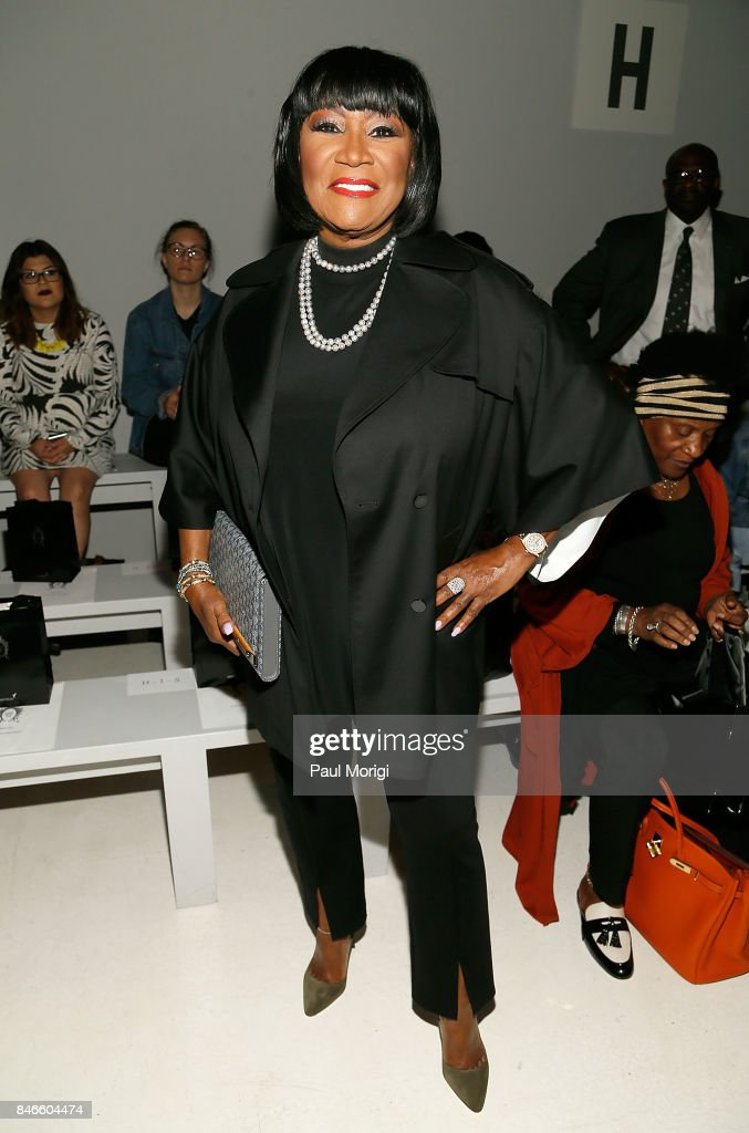 Singer Patti LaBelle attends the Zang Toi fashion show during New York Fashion Week: The Shows at Gallery 3, Skylight Clarkson Sq on September 13, 2017 in New York City.