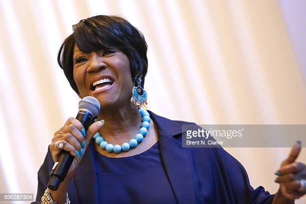 Singer Patti LaBelle kicks off the 3rd Annual National Women's Lung Health Week with a performance in Vanderbilt Hall at Grand Central Terminal on...