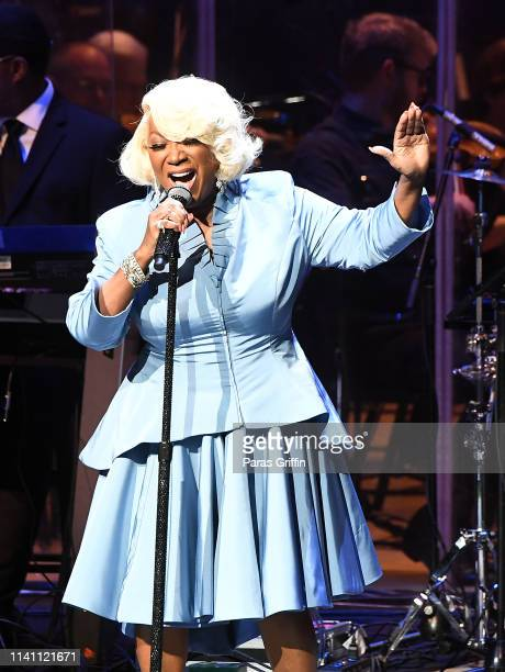 Singer Patti LaBelle performs onstage at the Atlanta Symphony Hall on April 07 2019 in Atlanta Georgia