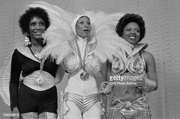Singer Patti Labelle poses for a portrait with her group LaBelle at THE ROCK MUSIC AWARDS Also in the group were former Bluebelles Sarah Dash and...