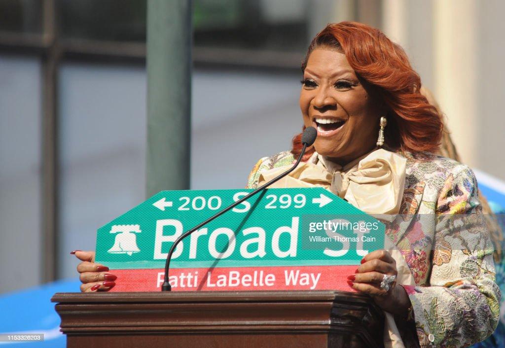 """Patti LaBelle Way"" Street Naming Dedication : News Photo"