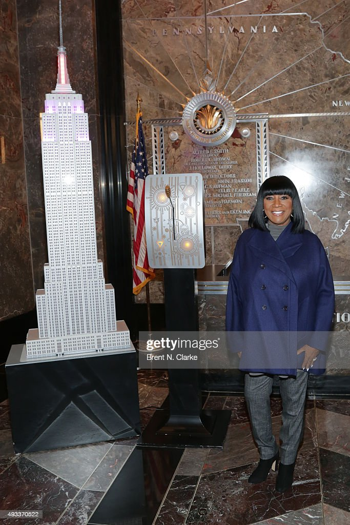 Patti LaBelle And Denise Rich Visit The Empire State Building