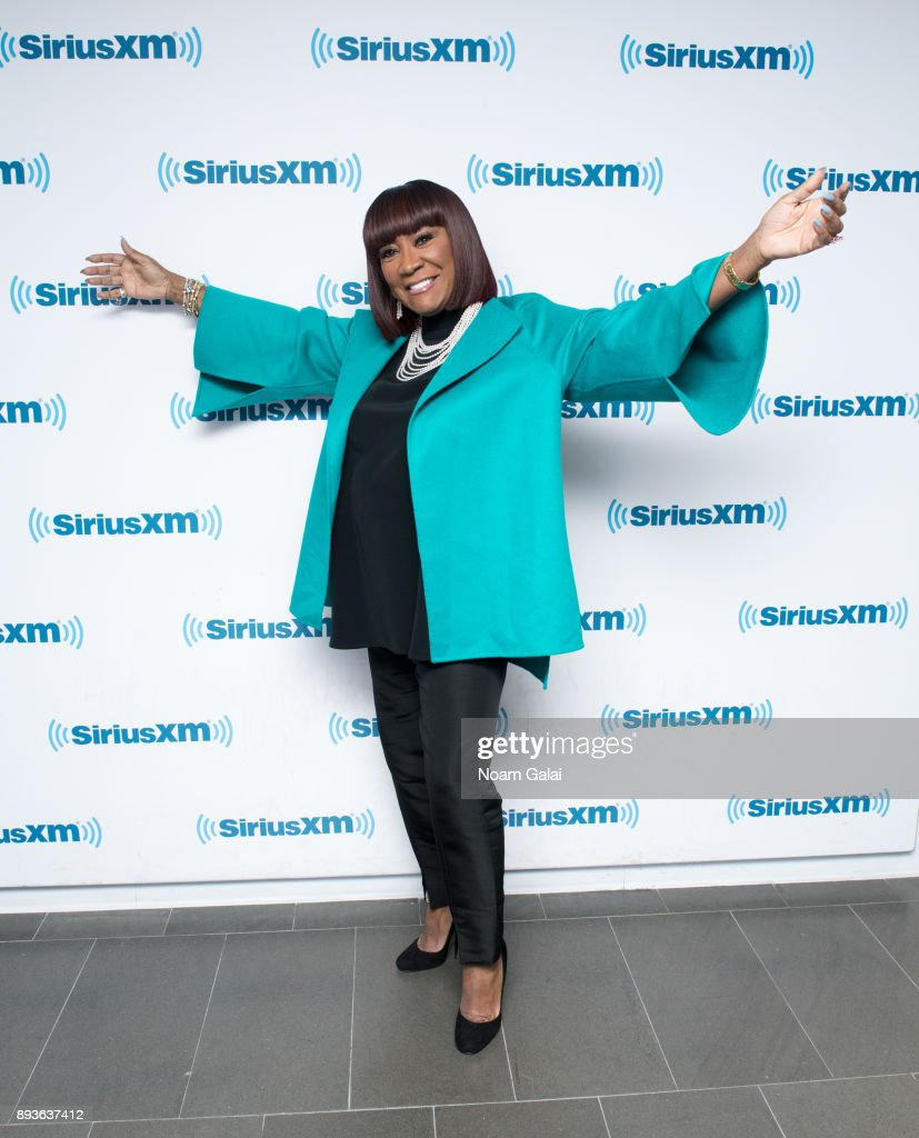Singer Patti LaBelle visits the SiriusXM Studios on December 15, 2017 in New York City.