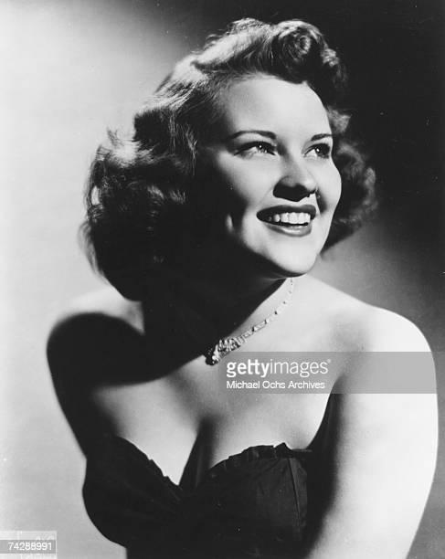 Singer Patti Page poses for a portrait circa 1948 in Chicago Illinois