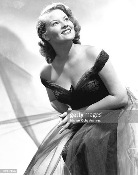 Singer Patti Page poses for a portrait circa 1949 in New York City New York