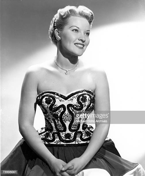 Singer Patti Page poses for a portrait circa 1951 in New York City New York