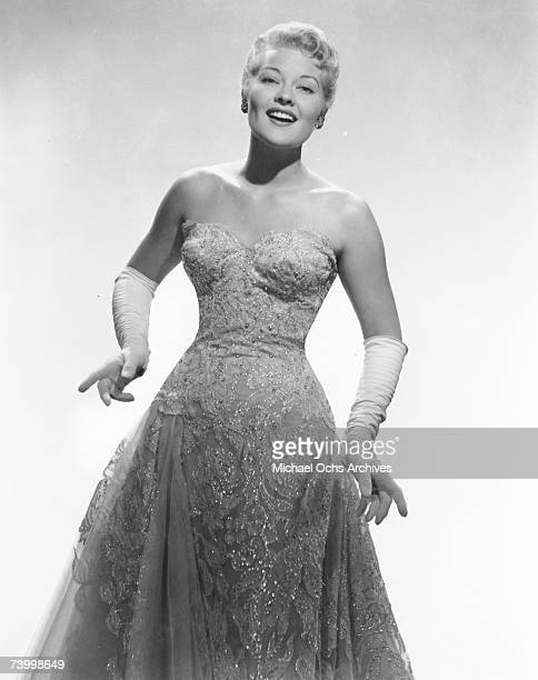 Singer Patti Page poses for a portrait circa 1955 in New York City New York