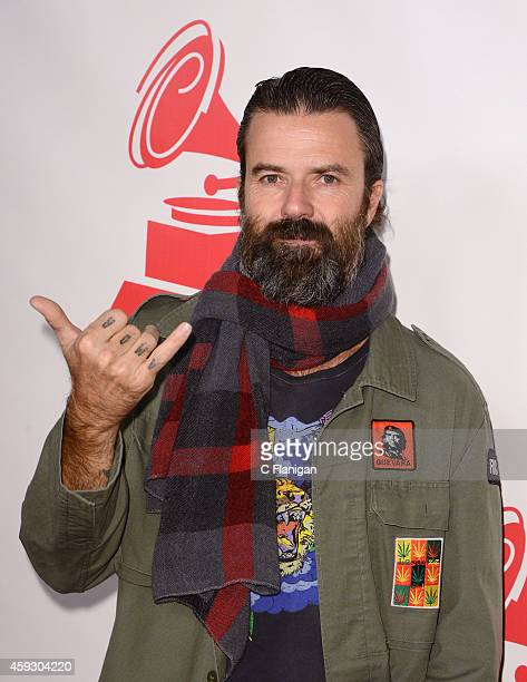 Singer Pau Dones of Jarabe de Palo arrives to the 2014 Latin Grammy Person Of The Year Tribute on November 19 2014 in Las Vegas Nevada