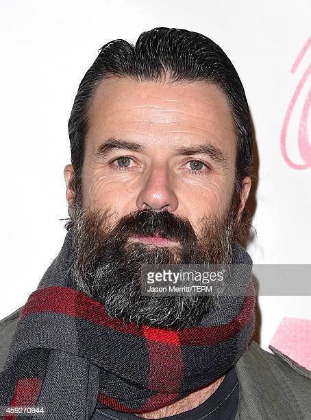 Singer Pau Dones of Jarabe de Palo attends the 2014 Person of the Year honoring Joan Manuel Serrat at the Mandalay Bay Events Center on November 19...