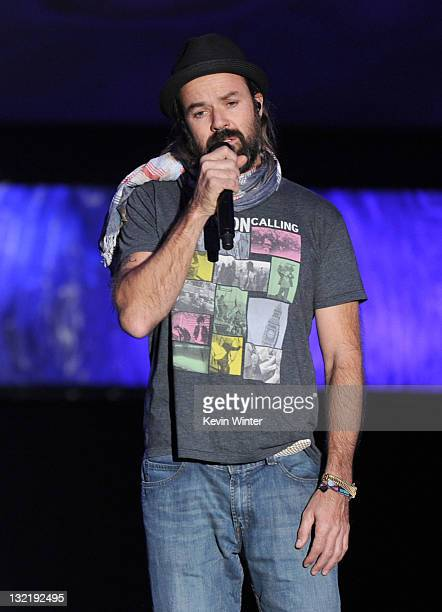Singer Pau Dones performs onstage during the 12th annual Latin GRAMMY Awards pretelecast at the Mandalay Bay Resort Casino on November 10 2011 in Las...