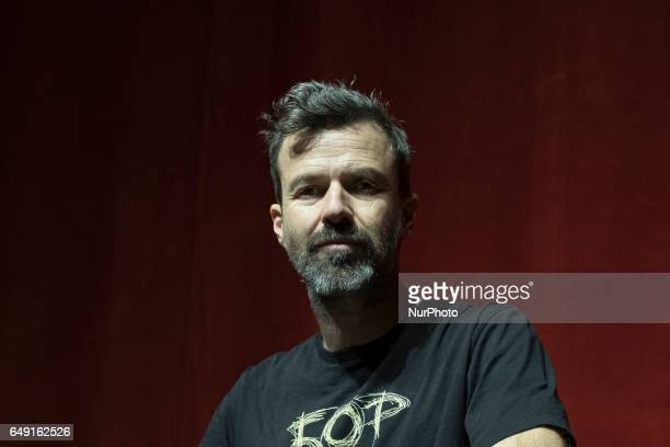 Singer Pau Dones presents his new album 50 PALO in the new theater Alcala of Madrid on March 7 2017