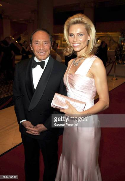 Singer Paul Anka Anna attend the Canadian Songwriters Hall of Fame Gala at Le Royal Meridien King Edward Hotel in Toronto Canada on February 29 2008