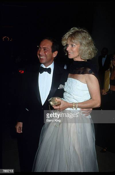 Singer Paul Anka poses for a picture with his wife Ann October 26 1990 at The Carousel of Hope Gala in Los Angeles California Anka is also a...