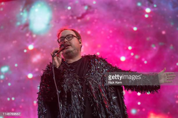 Singer Paul Janeway of St. Paul and The Broken Bones performs onstage during day three of KAABOO Texas at AT&T Stadium on May 12, 2019 in Arlington,...