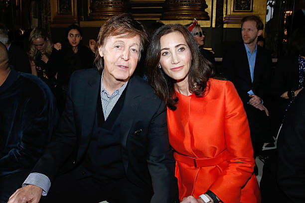 Singer Paul McCartney And His Wife Nancy Shevell Attend The Stella Show As Part Of