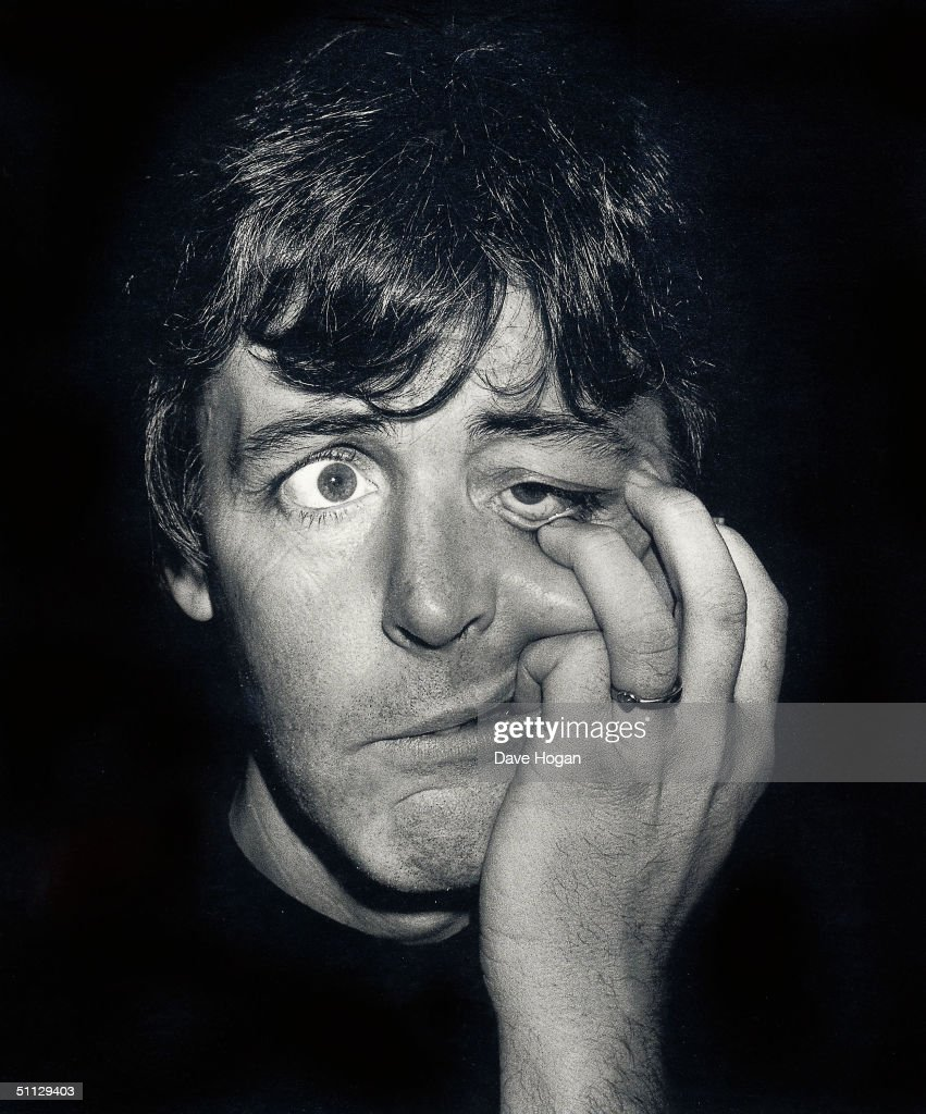 Singer Paul McCartney at the Hamilton Art Gallery in 1983, London.