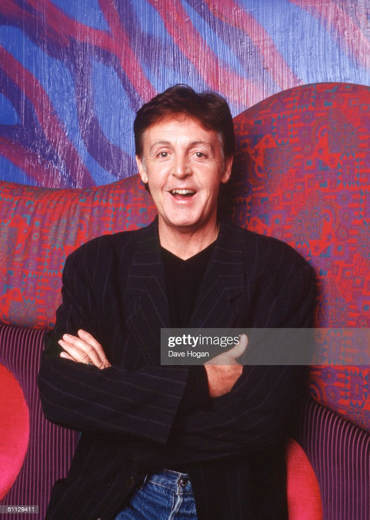 Singer Paul McCartney poses at the launch his new album 'Run Devil Run' at the Equinox in London. Paul is currently working on the soundtrack for Ben Elton's forthcoming directorial debut 'Maybe Baby'.