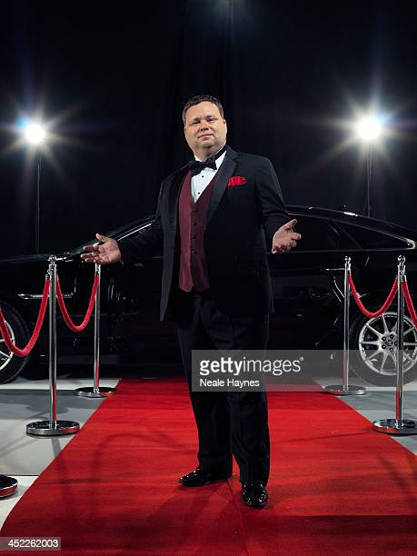 Singer Paul Potts is photographed for the Daily Mail on August 9 2013 in London England