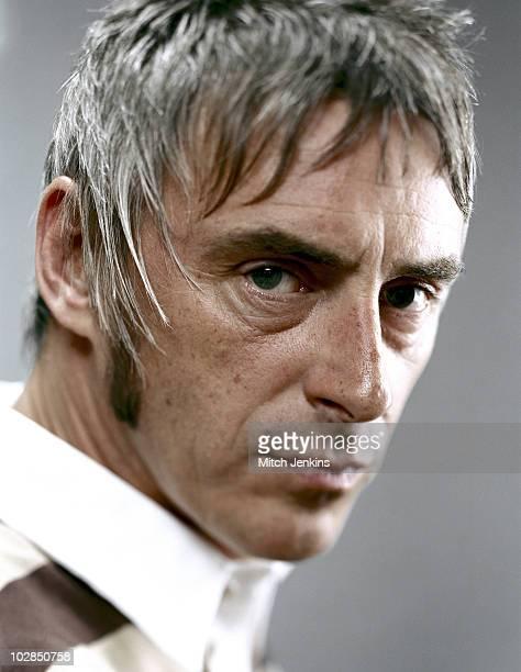 Singer Paul Weller poses for a portrait shoot on October 30 2003 in London