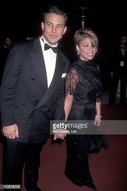 Singer Paula Abdul and boyfriend Brad Beckerman attend the 38th Annual Grammy Awards PreParty Hosted by Clive Davis and Arista Records on February 27...
