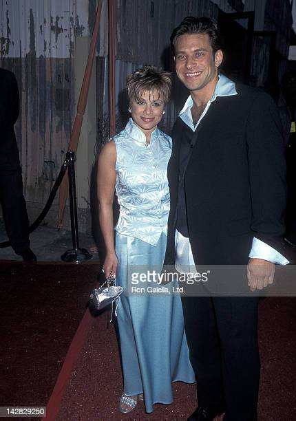Singer Paula Abdul and boyfriend Brad Beckerman attend the California Fashion Industry Friends of AIDS Project Los Angeles' 10th Annual Fashion Show...