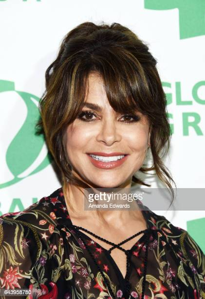 Singer Paula Abdul arrives at the 14th Annual Global Green PreOscar Gala at TAO Hollywood on February 22 2017 in Los Angeles California