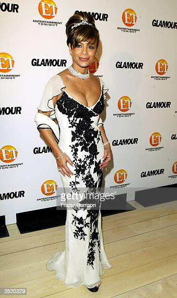 Singer Paula Abdul arrives at the Entertainment Tonight Emmy Party Sponsored by GLAMOUR held at the Mondrian on September 21, 2003 in Hollywood...
