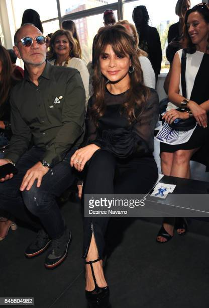 Singer Paula Abdul attends at the Zero Maria Cornejo show during New York Fashion Week on September 11 2017 in New York City