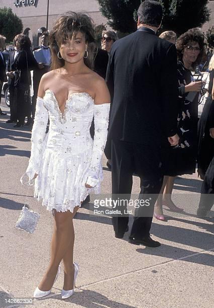 Singer Paula Abdul attends the 41st Annual Primetime Emmy Awards on September 17 1989 at the Pasadena Civic Auditorium in Pasadena California
