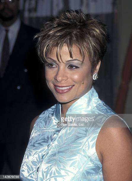 Singer Paula Abdul attends the California Fashion Industry Friends of AIDS Project Los Angeles' 10th Annual Fashion Show Dinner Benefit Salute to...