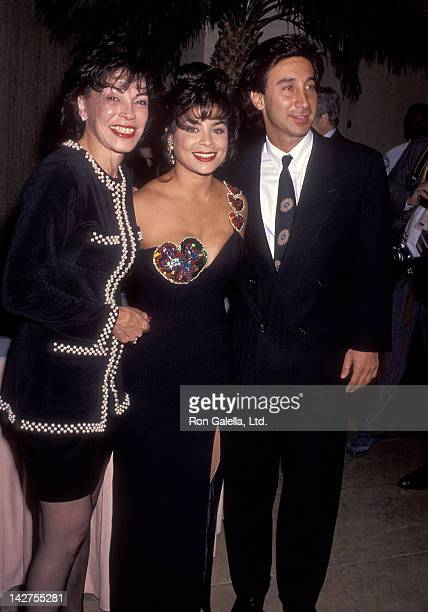 Singer Paula Abdul mother Lorraine Rykiss and guest attend American Cinema Awards Foundation's Donald O'Connor An American Treasure a 65th...