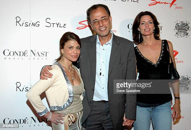 Singer Paula Abdul Seven7 Jeans CEO Gerard Guez and actress Joan Severance attend the Seven7 Jeans Rising Style Celebration of Fashion and Music at...