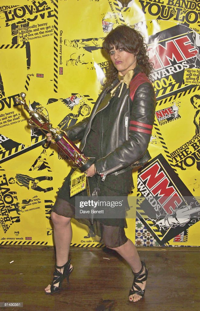 Singer Peaches attends the 2004 NME Magazine Awards at The Hammersmith Palais on February 12, 2004 in London.