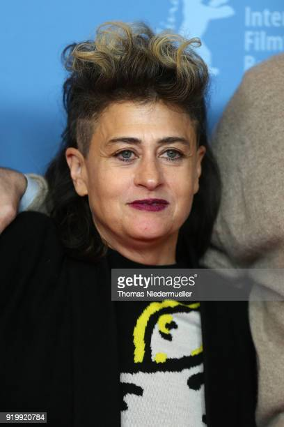 Singer Peaches attends the 'Shut Up and Play the Piano' premiere during the 68th Berlinale International Film Festival Berlin at Kino International...