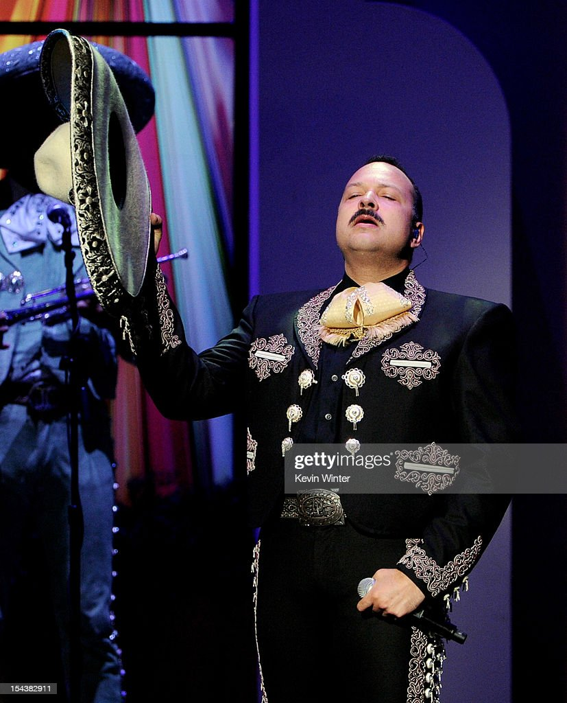 Singer Pepe Aguilar performs at the Billboard Mexican Music Awards presented by State Farm on October 18, 2012 in Los Angeles, California.