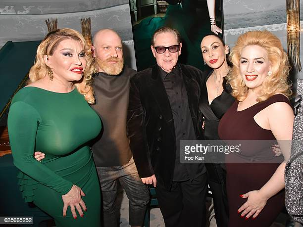 Singer /performer Allanah Starr musician Leonard Lasry designer Herve Leger photographer Stefanie Renoma singer Lolly Wish and model Raphael Say...