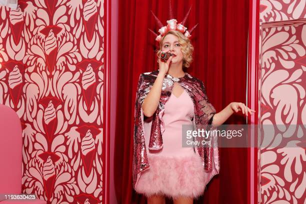 A singer performs onstage during Museum of Ice Cream SoHo Flagship Opening Party on December 12 2019 in New York City