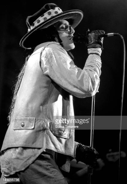 Singer Perry Farrell performs on stage with American rock band Jane's Addiction at Metro in Chicago Illinois 23rd November 1988