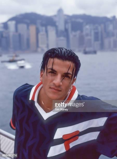 Singer Peter Andre portrait Hong Kong 1997