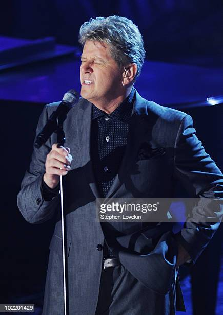Singer Peter Cetera performs at the 41st annual Songwriters Hall of Fame at The New York Marriott Marquis on June 17 2010 in New York City