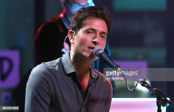Singer Peter Cincotti attends Build to perform 'Long Way From Home' at Build Studio on October 11 2017 in New York City